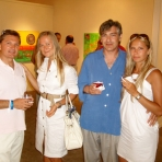 One Man Show @ Peter Marcelle's Hampton Road Gallery Opening, Southampton/NY, July, 2008